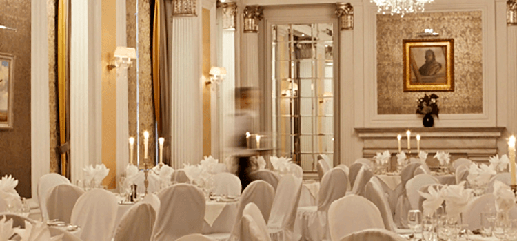 The Ballroom at the RAF Club, Piccadilly