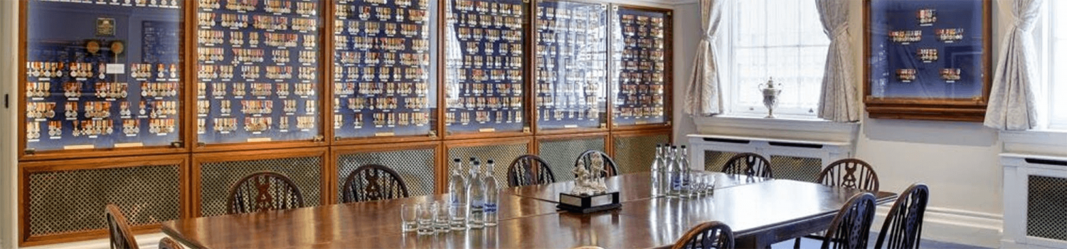 The HAC Medal Room